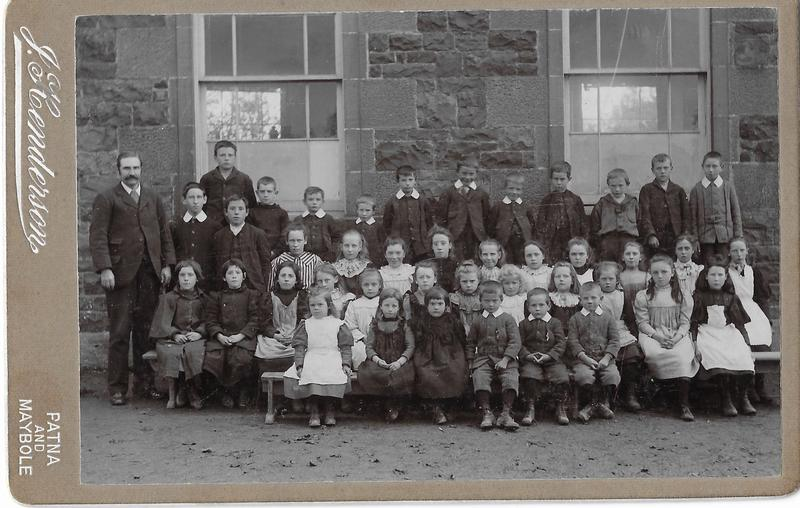 Carsphairn School Group Photo