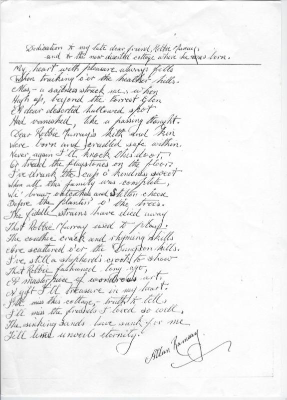 RMC_8 Poem - Dedication to my late dear friend Robbie Murray by Allan Ramsay..pdf