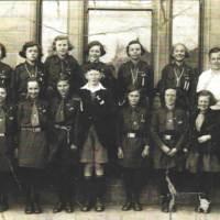 Balmaclellan School Group Photo - Choir competition at Newton Stewart McMillan Hall - first in their class.