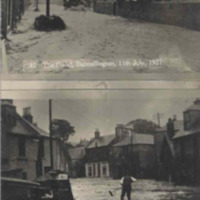 The Floods Dalmellington 11 July 1927