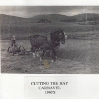 Cutting the Hay at Carnavel