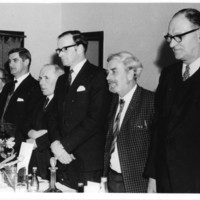 Burns Supper 1972, Top Table