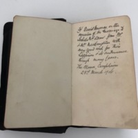 RMC_6 Bible given to David Murray on the occasion of his marriage from Rev McNaughton..jpg