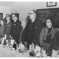 Burns Supper 1973, Top Table