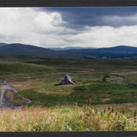 Woodhead Leadmines - looking down toward the Smelters Houses