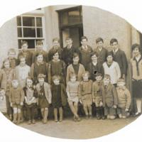 Carsphairn School, oval photo