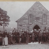 Opening Dedication Service of UF Church 1894