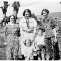 Unknown, Hilda Martin, Bob Martin, possibly James Martin and his mother circa 1937&lt;br /&gt;<br />
