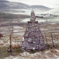 David McMath cairn at place of death