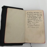 RMC_7 Bible given to Isabella McAdam on the occasion of her marriage from Mr McNaughton. .jpg