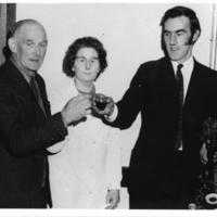 Burns Supper 1972, Toasting the Haggis