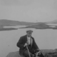 T Fergusson, of Buchan, at Loch Enoch