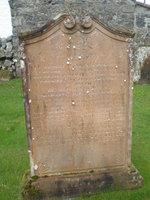 Kirkyard gravestone 15