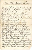 Poem: 'The Waistcoat's Return'