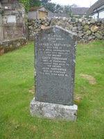 Kirkyard gravestone 35