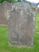 Kirkyard gravestone 30