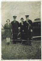 Nellie & Alex (Sandy) Borthwick, Mrs McMillan & Charles (Ned) Stewart