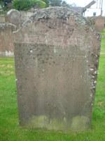 Kirkyard gravestone 31