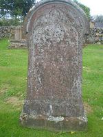 Kirkyard gravestone 40