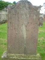 Kirkyard gravestone 34