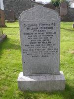 Kirkyard gravestone 10