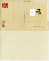 HM Forces blank letter