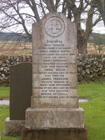 Kirkyard gravestone - Martin<br />