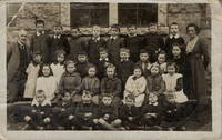 Carsphairn School Group Photo 1927 younger children with 2 teachers