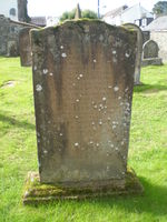Kirkyard gravestone 9