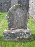 Kirkyard gravestone 3