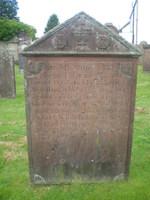 Kirkyard gravestone 26