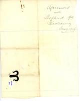 Agreement with Shepherd for Blackcraig