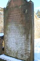 Kirkyard gravestone 198