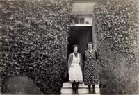 Mrs Wilson and Janet at Aldinna