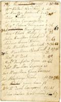 Accounts book William Campbell 1806 – 1821