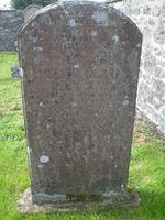 Kirkyard gravestone 2
