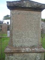 Kirkyard gravestone 16