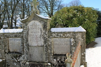Kirkyard gravestone 182