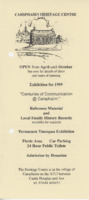 Leaflet for 1999 exhibition