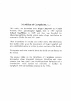 MacMillan of Carsphairn Family History 2