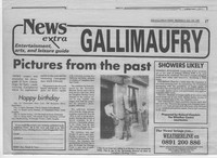 Newspaper article – Galloway News, Thursday July 13th 1995. Pictures from the Past