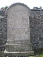 Kirkyard gravestone 4
