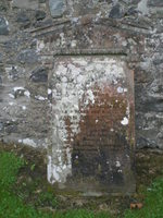 Kirkyard gravestone 13