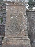 Kirkyard gravestone 107