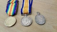 Medals -3 WWI medals