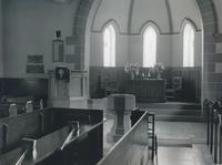 Church interior - windows