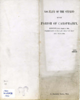 Locality of the stipend of the Parish of Carsphairn 1893
