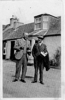 George Reid (Bath) & Mr Wilson headteacher