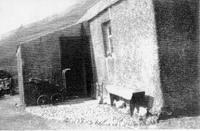 Clennoch shepherd's house (with pram)