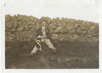 Ian Muir with dog